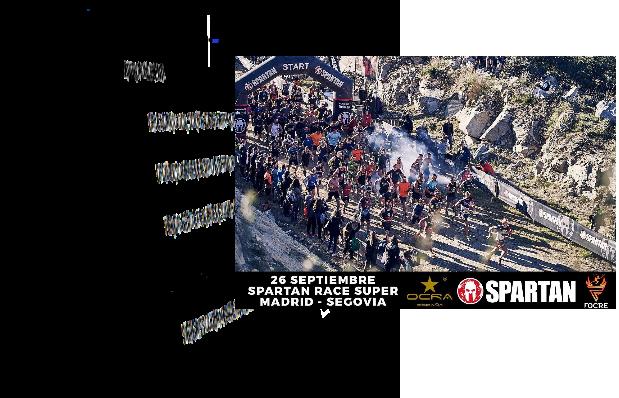 Spartan Race e Campionato OCR in Spagna